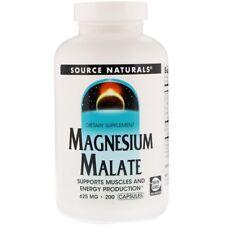 Magnesium Malate, Muscle & Energy, 625 mg, 200 Capsules