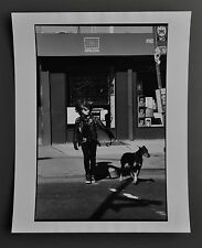 Leon Supraner New York Vintage Silver Gelatin Photo Print 20x25 Street Punk Dog