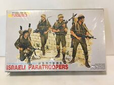 Dragon 3001 1/35 Israeli Paratroopers (4 Figures) Model Kit New Sealed