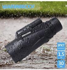🌟Wehvkei HD Monocular Telescope 12x50 Zoom Waterproof Phone Photography Adapter