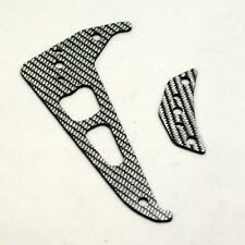 XTREME HELI ALIGN T-REX 250 SILVER CARBON FIBER TAIL FIN SET 11750S FLYBAR LESS