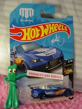 '15 MAZDA MX-5 MIATA #167✰MADMIKE; blue✰NIGHTBURNERZ✰2018 i Hot Wheels WW case H