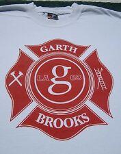 Garth Books 2008 Firefighters benefit Medium T-Shirt concert
