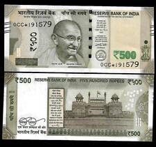 """Rs.500/- Urjit Patel  Star Note """"L"""" Inset  Prefix 0CC  2016 - UNC  LATEST"""