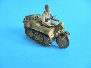 1/35 Das Werk Kettenkrad with Driver figure and Mixed Load BUILT & PAINTED