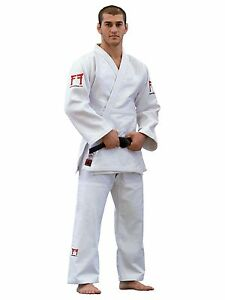 Judo Suit Fighting Films Superstar 750g, Youth Ijf Rec. White Sizes: 150-195cm