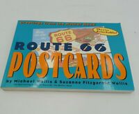 Vintage Route 66 Postcards Souvenir Book of 30 Classic Color Postcards