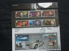 More details for royal mail 2020 james bond 007  presentation pack 583 with q branch mini sheet