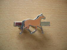 Tie Clamp Horse Brown / Horse Brown/Cavallo Item 2000