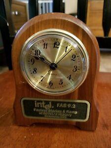 intel FAB 9.2 Fastest Startup & Ramp in INTEL's History Walnut Based Qtz Clock