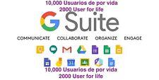 10,000 G Suite Account