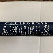 "Vintage California Angels Navy Blue Wooden 22"" Souvenir Bat MLB 1995"