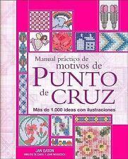 USED (VG) Manual practico de motivos de punto de cruz (Tiempo Libre) (Spanish Ed