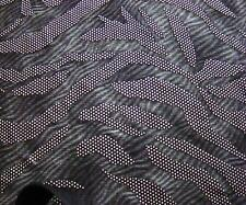 POLY LYCRA STRETCH SILVER GORGEOUS DEW DROP METALLIC  DESIGN NEW