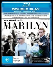 My Week With Marilyn (Blu-ray, 2012, 2-Disc Set) BRAND NEW/SEALED