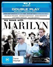 *NEW & SEALED* My Week With Marilyn (Blu-ray 2012) Michelle Williams Emma Watson