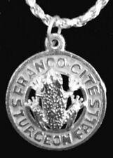 Franco Cites Sturgeon falls Ontario Sterling silver jewelry pendant Charm Canada