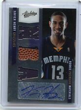 2010-11 ABSOLUTE #162 XAVIER HENRY AUTOGRAPH JERSEY RC #397/499 GRIZZLIES LAKERS