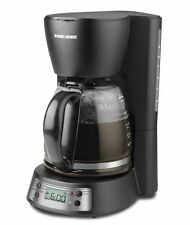 Black + Decker BCM1410B 12-Cup Programmable Coffeemaker with Glass Carafe