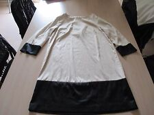 Robe - ivoire et noir - taille 40 - H&M - TBE
