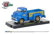 1:64 M2 Machines *AUTO-TRUCKS R46* Blue 1958 DODGE COE Pickup Truck NIB!