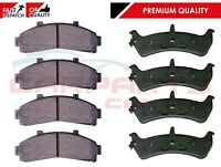 FOR FORD EXPLORER 4.0 ALL YEARS 1997-2001 FRONT & REAR BRAKE PAD PADS BRAND NEW