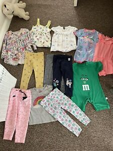 girls 18-24 months bundle 2 Years Summer Peppa Pig Next Unicorns 12 Items