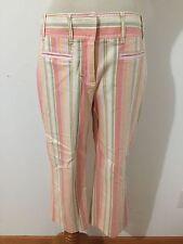 Ann Taylor LOFT Laura Capri Pants Peach, Coral, Olive, Taupe & Green Size 2