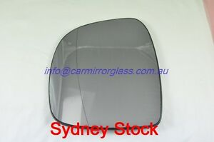 LEFT PASSENGER SIDE MERCEDES BENZ VIANO 2004-2011 MIRROR GLASS WITH BASE