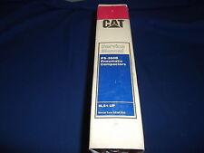 CAT CATERPILLAR PS-260B PNEUMATIC COMPACTOR SERVICE SHOP REPAIR BOOK MANUAL 9LS