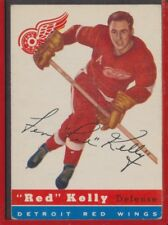 1954-55 Topps Hockey #5 Red Kelly Red Wings Near EX