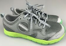 Patagonia Women's 8.5 Tailored Grey Green Light Weight Fashion Sneakers Shoes