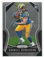 Darrell Henderson Rookie Card 2019 Prizm #330 Los Angeles Rams RC