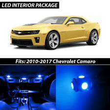 2010-2017 Chevrolet Camaro Blue Interior LED Lights Package Kit