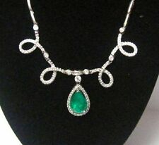 Emerald Not Enhanced Fine Necklaces & Pendants