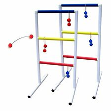 MD Sports Ladder Ball Toss Backyard Ladderball Indoor Outdoor Carry Case