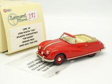 Lansdowne Models 1/43 - Austin A90 Atlantic Convertible Rouge
