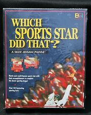Which Sports Star DID That Quiz Jigsaw Puzzle Age 12 Game