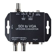 SDI to VGA Converter with Up/Down Scaling