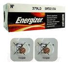 2 x Energizer Silver Oxide 379 DL batteries 1.55V SR521SW V379 Watch EXP:2020