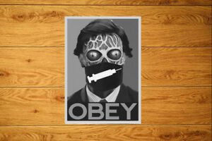 Obey Medic@l Tyranny Sticker Packs (10-100) Anti Vax Vaccination M@sk Conspiracy