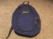 Pre Owned Navy Blue Jansport Backpack