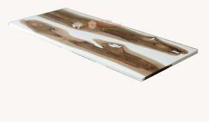 Epoxid Tisch, Ess, Sofa, Mitte Tischplatte Akazie Holz Tisch, Eigener Ordnung