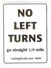 No Left Turns Official Racing Deal  D101