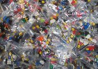 ☀️NEW TEN Lego Minifigure W/ 20 Accessories RANDOM From Huge Lot minifig