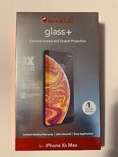 ZAGG Invisible Shield Glass+ Screen Protector, Apple iPhone XS Max & 11 Pro Max