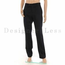Mid Rise Regular Size Flat Front 32L Trousers for Men