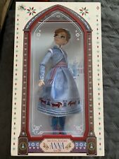 """Disney Store Limited Edition Doll Anna Olaf's Frozen Adventure LE 17"""" Doll"""