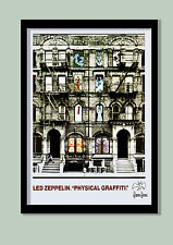 Led Zeppelin Poster. Physical Graffiti Promo  No.1 Large A2 ( 40 X 60 CM } PRINT