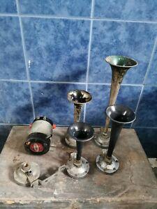 Trombe per Auto d'epoca e compressore Stebel